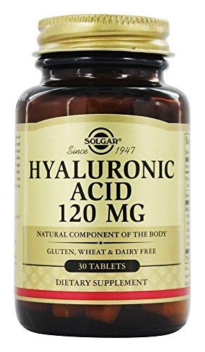 Solgar Complexe d'acide hyaluronique COMP 120 mg - 30 gélules