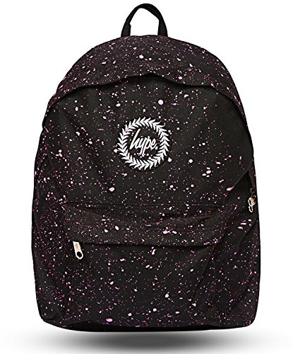 Hype Speckle Backpack (Black/Pink)