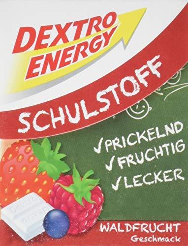 toff Waldfrucht/Mini Traubenzucker-Täfelchen mit schnell verfügbarer Glucose und Prickel-Spaß, 6er Pack (6 x 50 g) ()