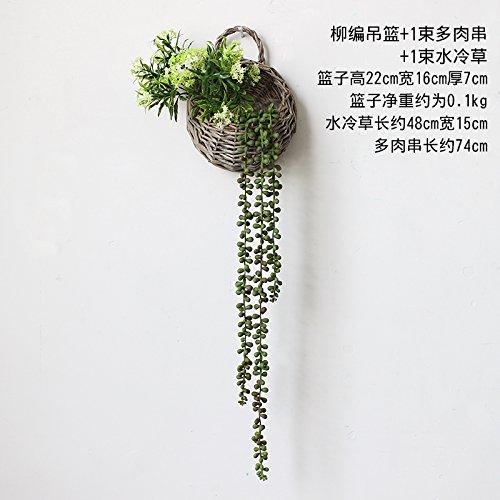 xin-home-simulazione-floreale-artificiale-appeso-orchid-rafano-verde-strisce-di-fiori-finti-da-paret