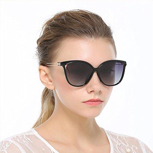 Marcus R Caveggf 2019 Frauen Polarisierte Sonnenbrille Fahren Brille Große Sonnenbrille, 2