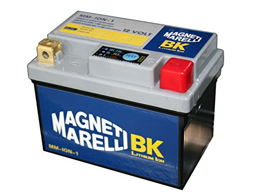 MM-ION-1 - Batteria moto litio Magneti Marelli eq. YTX4L-BS 3 AH / YTX5L-BS 4 AH