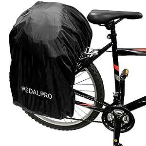 PedalPro Housse anti-pluie étanche pour sacoches devélo simple et double