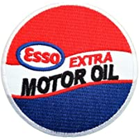 Esso Extra motor Oil Gas Mobil Fuel Logo Shirts GE03 Iron on Patches by Oil Patch