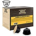 Note D'Espresso Preparato Solubile per Bevanda al Gusto di Cioccolato e Menta esclusivamente compatibili con macchine…