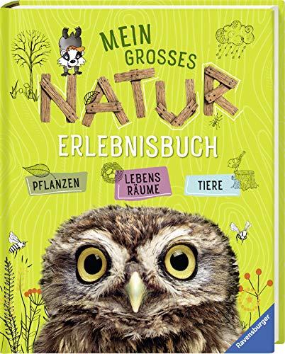 Mein großes Natur-Erlebnisbuch: Tiere, Pflanzen, Lebensräume