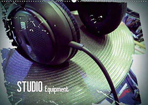 STUDIO-Equipment-Wandkalender-2018-DIN-A2-quer-Bilder-von-Musikinstrumenten-und-Soundtechnik-dargestellt-mit-interessantem-Farbeffekt--Kalender-Apr-01-2017-Bleicher-Renate