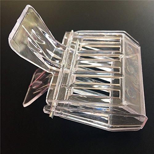 dealglad® Lot de 2 sûr et efficace en plastique de haute qualité Matériau sans odeur Nouveau Roi Prisonnier Cage à pinces