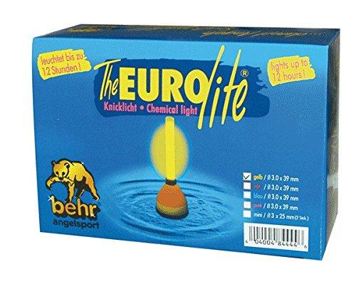 Angel Knicklicht Leuchtstab Pose Eurolite Knicklichter Angeln Leuchtstäbe (gelb)