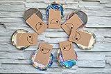 Kosmetikpad, Peelingpad aus Bio-Baumwolle, 6 Stück, Abschminkpad, Babypflege, Wellness, Bad, Kinder, Überraschungsset, Testset, Probierset, Geschenke für Sie, für die Mama, zur Geburt