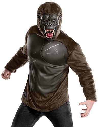 Kong Kostüm King - Rubies Kong Skull Island Mens Deluxe King Kong Costume XL