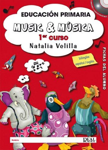 MUSIC & MUSICA ALUMNO V1+DVD (RM Pedag Educacion)