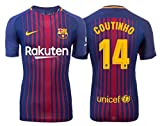 Trikot Kinder FC Barcelona 2017-2018 Home - Coutinho 14 (164)