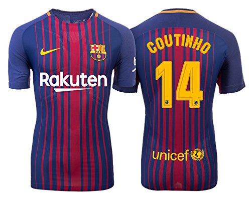 Trikot Kinder FC Barcelona 2017-2018 Home - Coutinho 14 (140)