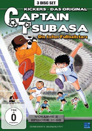 Captain Tsubasa: Die tollen Fußballstars, Vol. 2 - Episoden 31-60 (3 DVDs)