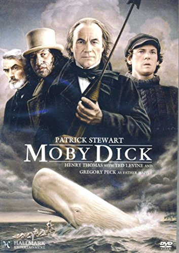 Moby Dick [DVD] Henery Thomas,Ted Levine,Gregory Peck,Patrick Stewart