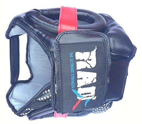 Rad Boxen MMA Displayschutzfolie Kopfbedeckung UFC Kopfschutz Sparring Helm Junior, Senior Unisex Abbildung 2