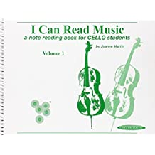 I Can Read Music: A Note Reading Book for Cello Students: 1