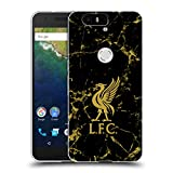Official Liverpool Football Club Black & Gold Marble