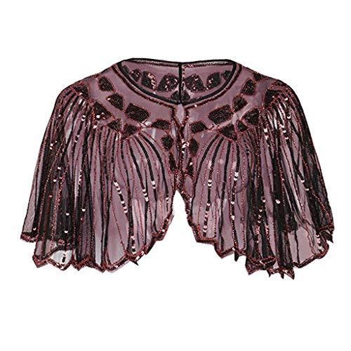 Jurtee elegante sposa scialle da donna,coprispalle sera femminile nuovo di fascia casual moda estiva in rilievo per banchetto abito
