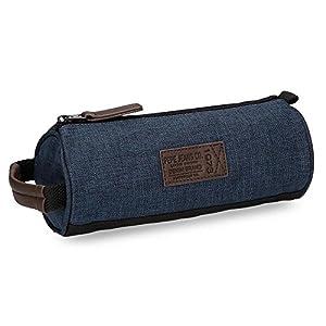 Pepe Jeans Worn 73 Neceser de Viaje, 1.86 litros, Color Azul