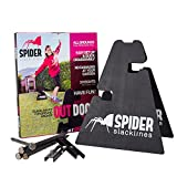 Spider 16021Kit slackline, noir, taille unique