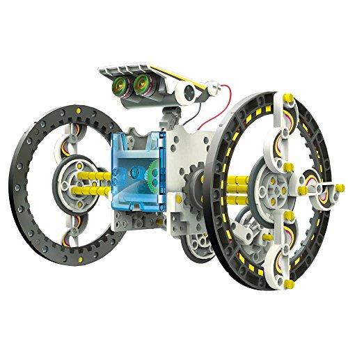 Electrónica Rey 14 en 1 Robot Solar, Juguete Educativo de Robótica