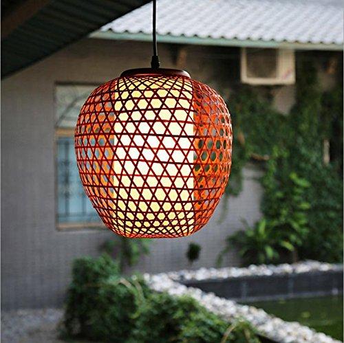 Lh&Fh Südostasien Restaurant Kleine Kronleuchter Aisle Tee Handgefertigte Bambus Anhänger Kreative Kunst Beleuchtung -