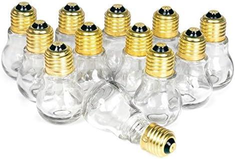 12 ampoules décoratives à vis, Gros acheteurs acheteurs acheteurs VBS B01MEE21Z3 | Ingénieux Et Pratique  a23f43