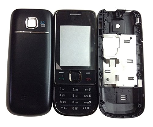 BLUTECH Replacement Full Body Housing Panel For Nokia 2700 Classic- Black  available at amazon for Rs.219