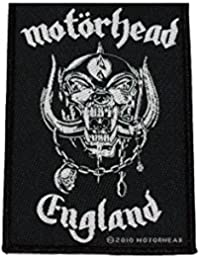 Motörhead parche England Patch tejida 7x 10cm