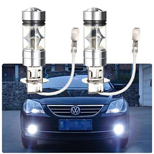 FEZZ H3 Auto LED Nebelscheinwerfer Birnen Canbus 2828 20SMD 100W Weiß