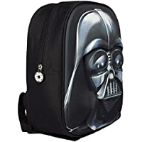 New Childrens Black 3D 'Darth Vader' Backpack Ideal For School - Black - UK SIZES 1-1