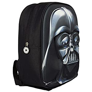 51yE8UwJ2CL. SS300  - Star Wars Mochila Relieve, Color Negro