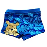 Winnie the Pooh Costume da bagno Bambini 6-12 - 18-24 Mesi Disney (18 mesi, Azzurro)