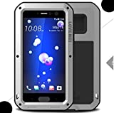 WEIFA HTC One A9 Armor Case, Brave Warrior Tough Metal Outdoor Anti-Drop 360 Full Encase Cover, Cool Special Safe Protection Armour Cellphone Case for HTC One A9 Silver