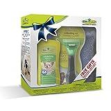 Geschenkeset bestehend aus 1 Stck.Furminator Hund S langhaar /1 Stck. Waterless Spray / 1 Stck. Handtuch