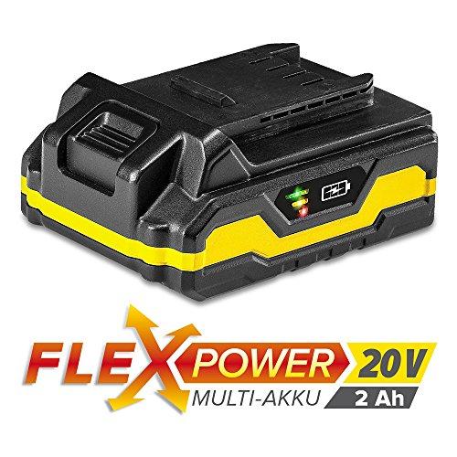 TROTEC Zusatz-Akku Flexpower 20V 2,0 Ah Lithium-Ionen-Akku (20-V-Ersatzakku für Trotec-Powertools aus dem Trotec-Flexpower-Programm)