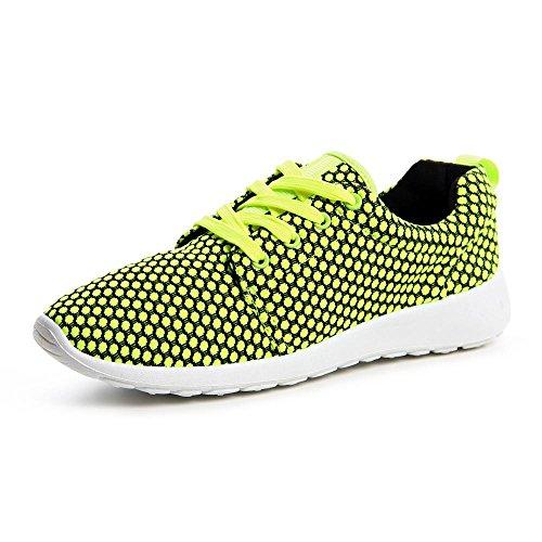 topschuhe24674Femme Sneaker Chaussures de sport Jaune - Jaune