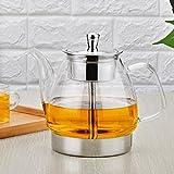 Teekocher Hitzebeständige Glas Teekanne Elektroherd Warme Tee Pu'er Teekanne GAODUZI ( Kapazität : 1.5l )