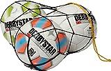 Derbystar Ballnetz Polyester, für 3 Bälle, schwarz, 4101000000