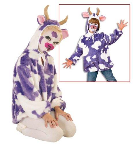 Kuh Milli Tier Kostüm Oberteil Plüsch Kinder Kostüm Gr - Plüsch Kuh Kostüm