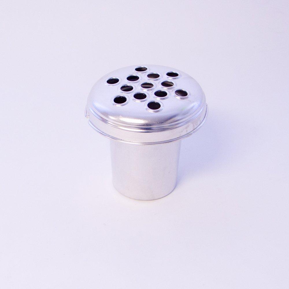 Silver aluminium grave vase container insert 13cm by smithers silver aluminium grave vase container insert 13cm by smithers oasis amazon kitchen home reviewsmspy