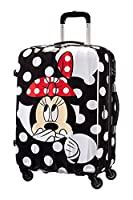 Disney American Tourister Legends 65/24 Alfatwist Valise, 65 cm, 52 L, Minnie Dots