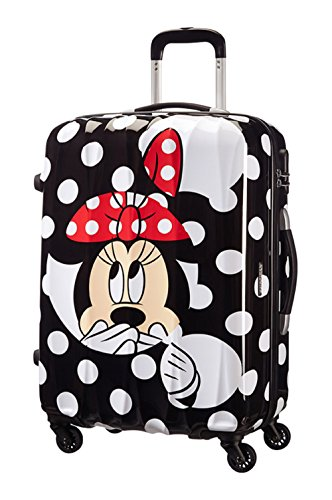 Disney by American Tourister Legends Spinner 65/24 Alfatwist Koffer, 65 cm, 52 Liter, Minnie Dots (American Koffer Tourister)