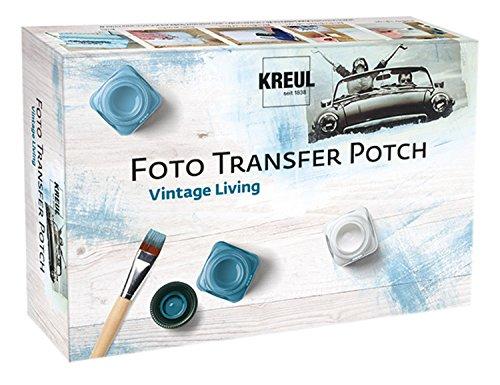 Hobby Line 49990 - Foto Transfer Potch Set Vintage Living, mehrfarbig