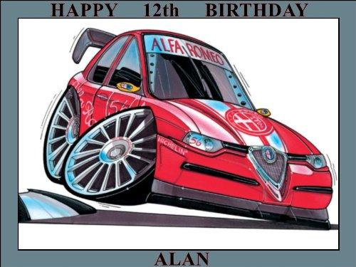 45-alfa-romeo-156-touring-coche-rojo-koolart-0045-personalizable-forma-de-254-cm-x-1905-cm-decoracio
