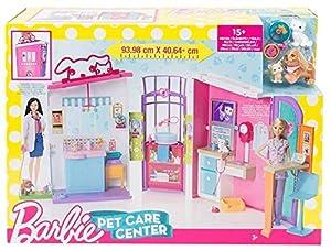 centro veterinario mascotas: Barbie PARQUE INFANTIL Mascota Cuidado Centro De Niña Niños Juguete Animal Veter...