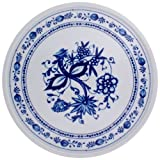 KAHLA Onion Pattern, Platter/cake platter 12-1/4 Inches, Rossella Color, 1 Piece by KAHLA - PORCELAIN FOR THE SENSES