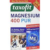 Taxofit Magnesium Tabletten 400 pur, 30 Stück preisvergleich bei billige-tabletten.eu